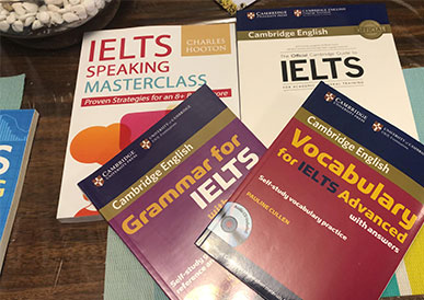 English language training material library 3